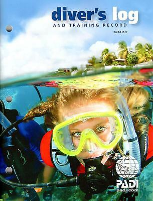 PADI Diver's Log Book w/ Training Record for Scuba Diving