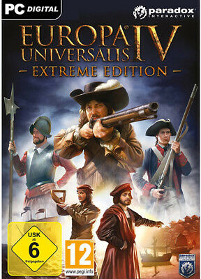 EUROPA UNIVERSALIS IV 4 EXTREME EDITION STEAM PC Code CD DOWNLOAD Key