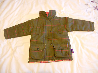 Girls Tweed Jacket - Sizes 2-3, 4-5, 6-7 and 8-9 Years - Shire Classics