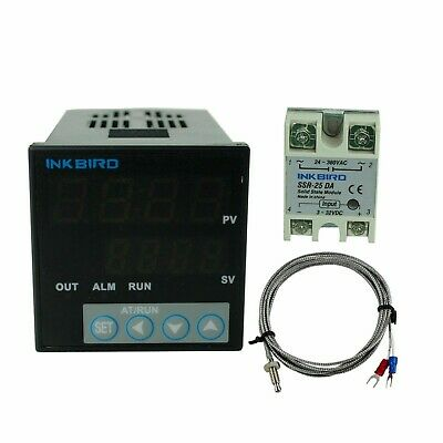 AC 100-220V Dual Digital PID Temperature Controller Thermostat D1S-VR-220