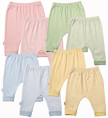 Kushies 2 Pack Cotton Cuffed Pants for Boys and Girls - 533537