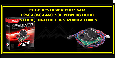 Edge Revolver Chip Switch For 95-03 Ford Powerstroke Diesels 7.3 50-140 Hp!!