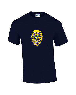 Hawaii-Five-O Badge Retro TV Mens Printed T-Shirt