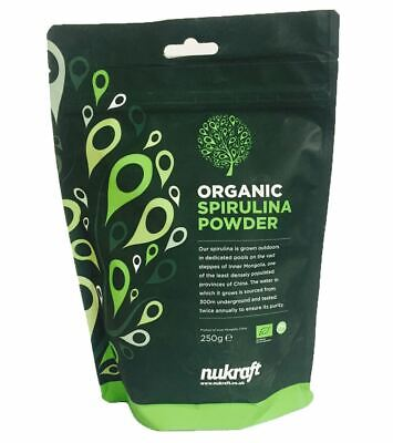 Organic certified SPIRULINA powder by NUTRICRAFT™ - protein and B vitamins