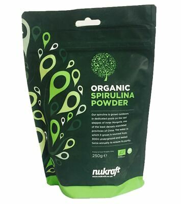 Organic certified SPIRULINA powder - high in protein and B vitamins