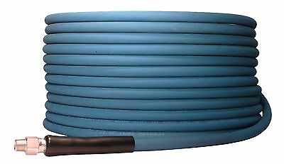 "200' ft 3/8"" Blue Non-Marking 6000 psi Pressure Washer Hose 200 - FREE SHIPPING"