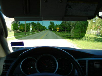 Sun visor extender new product U.S patent easy to use, not available in stores