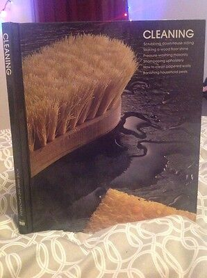 Time Life Vintage Cleaning Guide Hardcover 1982 Original *COLLECTORS EDITION**
