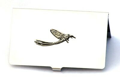 Dragonfly May Fly Business Card Holder Insect Present