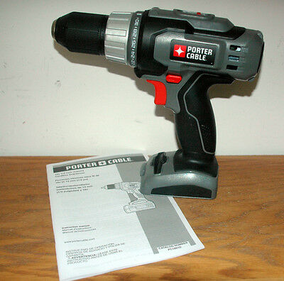 NEW NOT REFURBISHED PORTER CABLE DUAL POWER 18V 18 VOLT DRILL FREE US SHIPPING
