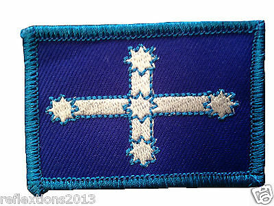 Motorcycle Vest Patch Cross Ironed Badges and Patches Southern Cross Bike Patch