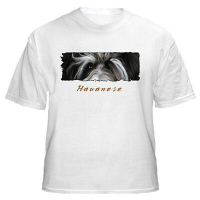 "Havanese  # 2  "" The Eyes Have It ""    T shirt"