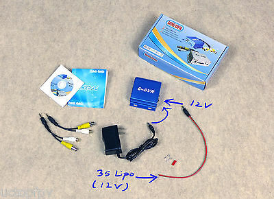 FPV Ground Station Recorder Mini C-DVR with Video/Audio Playback Skywalker