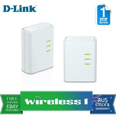 D-Link DHP-309AV Powerline AV 500 Mini Starter Kit