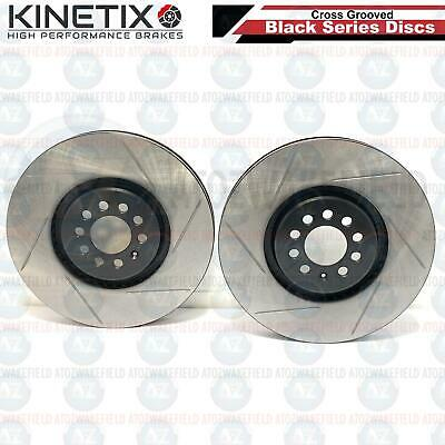 FOR VW GOLF MK4 R32 TT 3.2 V6 FRONT PERFORMANCE DIMPLE GROOVED BRAKE DISCS 334mm