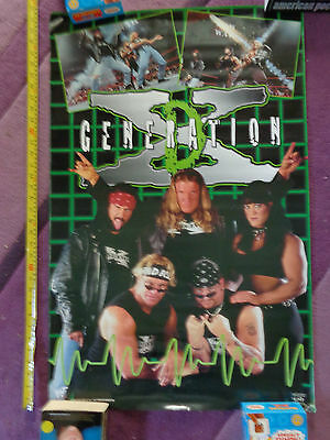 Generation X WWF_RARE PROMO POSTER_ships from AUSTRALIA!_24a