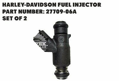 27709-06A Harley Davidson Fuel Injector - New - Set Of 2