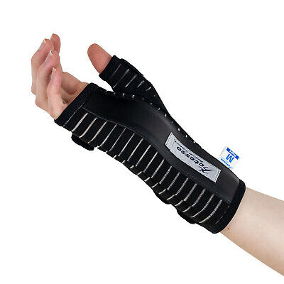 Breathable Carpel Tunnel Wrist Splint Support Brace for Pain Relief - Right Left