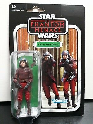 "Star Wars Naboo Royal Guard Vc83 Figura The Vintage Collection "" Nueva """
