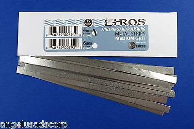 Dental Polishing + Finishing Metal Strips Metal 4 mm Pk /12 EHROS