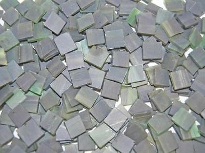 """100 1/2"""" Cypress Green Tumbled Stained Glass Mosaic Tiles Tile"""