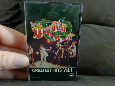 DRAGON Greatest Hits VOL 1_used cassette_ships from AUSTRALIA!