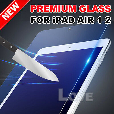 New Film Guard Cover Tempered Glass for iPad Air 1 2 Screen Protector