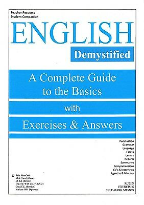 eBook: English - Complete Guide to the Basics