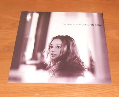 Tori Amos To Venus and Back 1999 Promo Double Sided Flat Square Poster 12 x 12