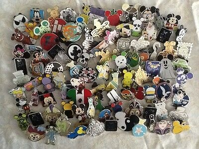 Disney Pins 50 Different Pins Fast Shipping By Usa Seller
