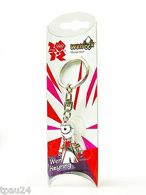 London 2012 Shop For Cheap London Olympics 2012 Wenlock Queens Guard Metal Key Ring Without Return