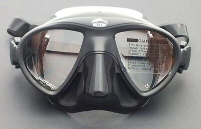 WILCOMP Low Profile Mask for Free-diving  Spear-fishing Scuba Diving WIL-DM-26
