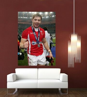 Leigh Halfpenny Wales & Lions Rugby Giant 1 Piece  Wall Art Poster SP232