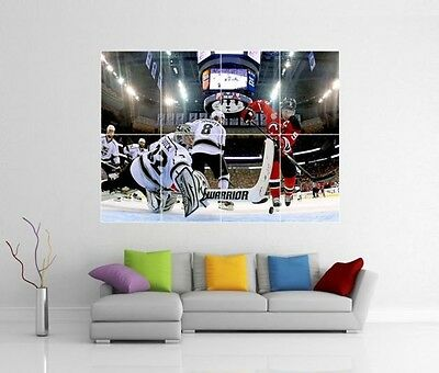 Jonathan Quick Los Angeles Kings Giant Xl Wall Art Print Photo Poster J57