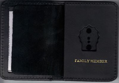 Detective's Family Member Wallet to hold mini badge (mini badge not included)