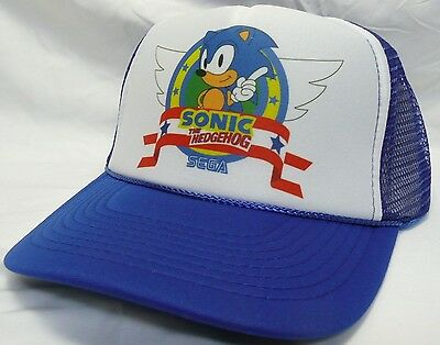 701f95760e4 Sonic the Hedgehog Trucker Hat mesh hat snapback hat choose the hat color