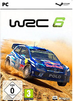 WRC 6 - FIA World Rally Championship VI STEAM [EU/DE] CD Key PC Download Code