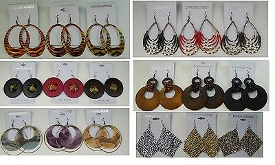 A-011 Wholesale Jewelry lot 10 pairs Mixed Style Drop Fashion Dangle Earring