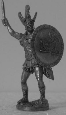 Greece 54mm Miniature Model Toy GR15 Leonid - the king of Sparta. 430 BC. Greece
