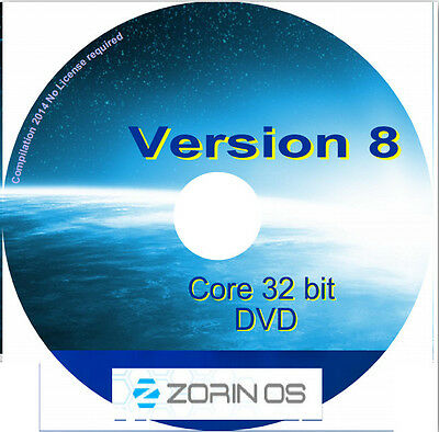 ZORIN OS 15 LTS *Core Edition* 64-Bit LIVE/Install DVD (New