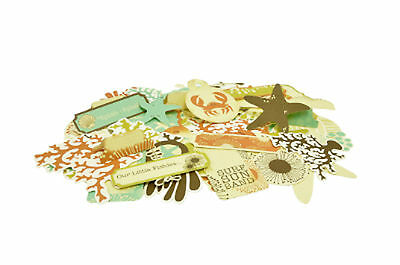 Rock Pool Collectables Die Cut Shapes Kaisercraft 50+ Piece Pack