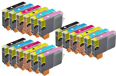18 NEW Multi-Pack Ink Set for CLI-8 Canon Pixma iP6600D iP6700D Printer