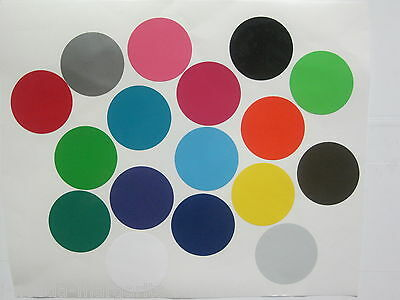"60- 1"" Inch Vinyl Polka Dots Wall Decal Stickers Art Decor Circles Bedroom Kids"