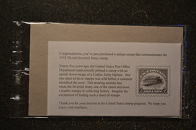 2013USA 4806 $2.00 - Inverted Curtiss Jenny - Sealed Mint Sheet of 6 - 2 dollars