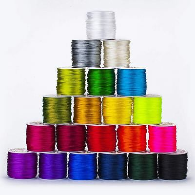 Neotrims Rattail 2mm Silky Rats Tail Cord KUMIHIMO Jewelry Braiding, 23 Colours
