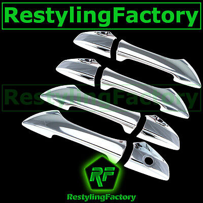 handles covers w//out psg keyhole 4 Doors A-PADS For Honda Accord 08-12 Chrome