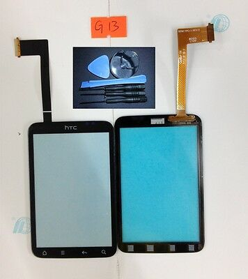Free shipping full  New black Touch Screen For Htc Wildfire S/ G13 / A510E+tools