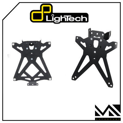 Porta Targa Regolabile Tardu107 Lightech Ducati Monster 696  '08 '09 '10 '11 '12
