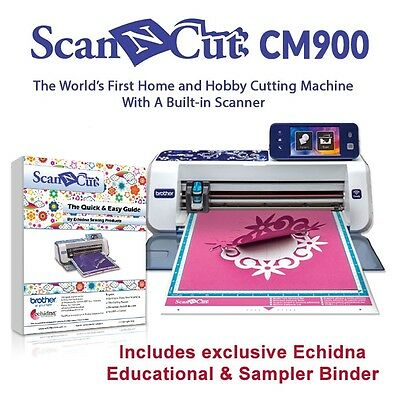 All New Brother Scan N Cut Cm900