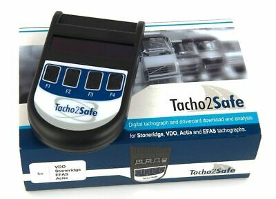 NEW Tachpro Tachosafe Digital Tachograph And Drivercard Download And Analysis